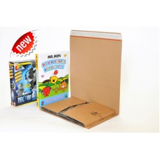 2000 x C3 Book Wrap (Bukwrap) Mailer Postal Boxes 311x240x50mm[5056025173057]