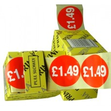 "2000 x ""1.49"" Self Adhesive Price Labels"