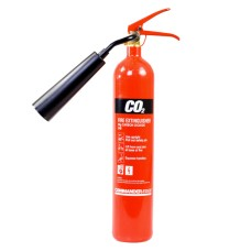 3 x 2kg CO2 Carbon Dioxide Fire Extinguishers With Brackets[5056025141827]