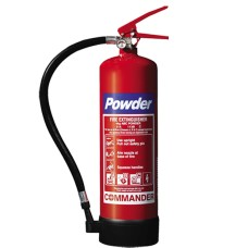 3 x 4kg ABC Dry Powder Fire Extinguishers With Brackets - For Warehouse, Office, Industrial Etc[5055502303901]