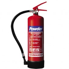 1 x 4kg ABC Dry Powder Fire Extinguisher With Bracket - For Warehouse, Office, Industrial Etc[5055502303888]
