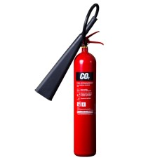 10 x 5kg CO2 Carbon Dioxide Fire Extinguishers With Brackets[5056025141902]