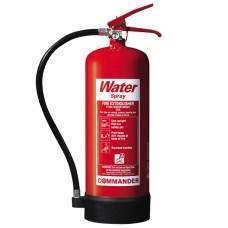 1 x 6 Litre (6L) Water Fire Extinguisher With Bracket[5056025141919]