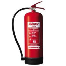 2 x 9 Litre (9L) Water Fire Extinguishers With Brackets[5056025141971]