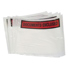 1000 x A7 Printed Document Enclosed Wallets 95mm x 125mm[5055502319650]
