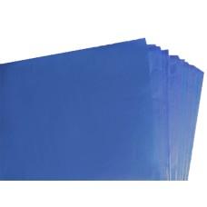 100 Sheets of Dark Royal Blue Acid Free Tissue Paper 500mm x 750mm ,18gsm[5055502337661]