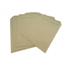 50 x C4/A4 Manilla Plain Self Seal Brown Envelopes 324x229mm 80gsm[5055502354033]