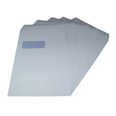 2000 x C4/A4 White Window Self Seal Envelopes 324x229mm , 90gsm[5055502390543]
