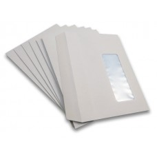 2000 x C6 White Window Self Seal Envelopes 114x162mm , 80gsm[5055502354002]