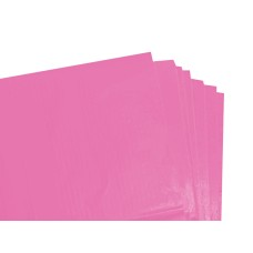 100 Sheets of Cerise Coloured Acid Free Tissue Paper 500mm x 750mm ,18gsm[5055502337784]