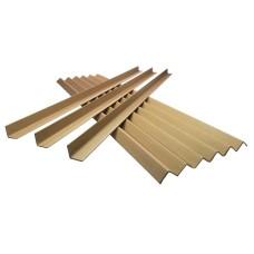 100 x Cardboard Edge Guard Pallet Protectors 35mm x 35mm x 1.2M L-Profile[5055502353159]