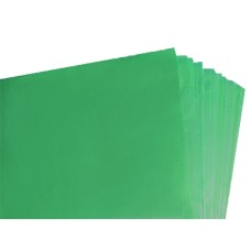 250 Sheets of Dark Green Coloured Acid Free Tissue Paper 500mm x 750mm ,18gsm[5055502338033]