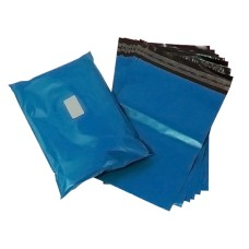2000 x Strong Metallic Blue Postage Mailing Bags 5