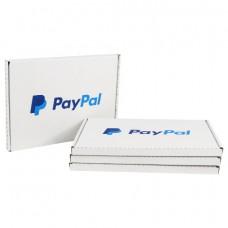 100 x White PIP Royal Mail MAXIMUM LARGE LETTER SIZE PayPal Postal Cardboard Boxes 334x240x19mm[5056207519093]
