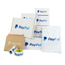 Small PayPal Packaging Kit Size S (20 Cardboard Boxes + Materials) - 100% Recyclable Products[5056207519147]