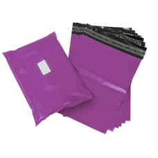 100 x Strong Purple Postage Poly Mailing Bags 6
