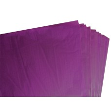 500 Sheets of Purple / Violet Coloured Acid Free Tissue Paper 500mm x 750mm ,18gsm[5055502337920]