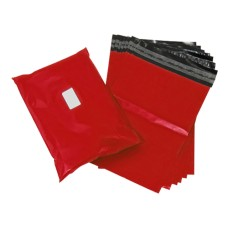 5000 x Strong Red Postage Poly Mailing Bags 12