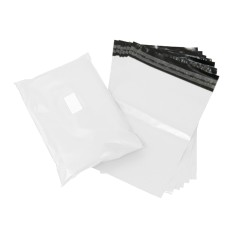 5000 x Strong White Postage Poly Mailing Bags 18