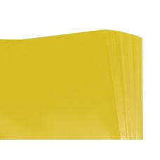 250 Sheets of Yellow Coloured Acid Free Tissue Paper 500mm x 750mm ,18gsm