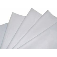 500 Sheets of White Acid Free Tissue Paper 450mm x 700mm , 18gsm[5055502346854]