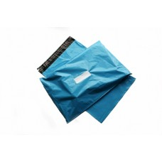 100 x Strong Baby Blue Postage Poly Mailing Bags 12