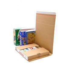 10 x C5 Book Wrap (Bukwrap) Mailer Postal Boxes 415x355x100mm[5055502348612]