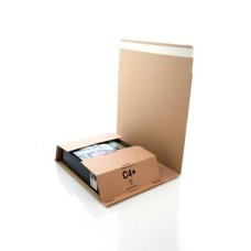 100 x C4 Book Wrap (Bukwrap) Mailer Postal Boxes 326x280x70mm[5055502318684]