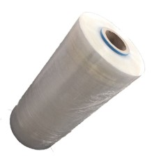6 x Rolls of Power-Pre Clear Machine Pallet Stretch Wrap 500mm x 1400M x 23mu, 16kg Rolls[5056025180444]