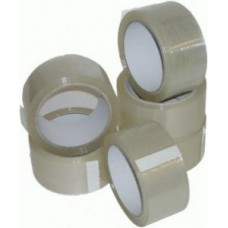 6 x Rolls Clear Packing Parcel Tape 48mm x 66m