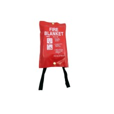 5 x Quick Release Fire Safety Blankets 1M x 1M[5055502337098]