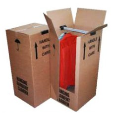 3 x Extra Large Double Wall Wardrobe Removal Boxes 20
