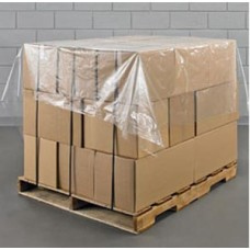 2 x Rolls Of 500 Polythene Pallet Top Covers Sheets 1400mm x 1400mm[5055502334813]