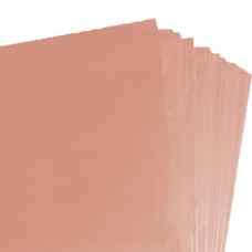 500 Sheets of Peach Coloured Acid Free Tissue Paper 500mm x 750mm ,18gsm[5056025109698]