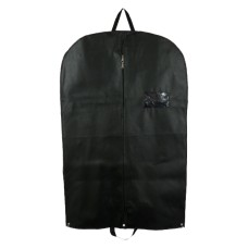 2 x Premium Black Heavy Duty Suit Garment Covers Carriers With Handles[5056207515064]
