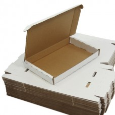 50 x White PIP Royal Mail MAXIMUM LARGE LETTER SIZE Postal Cardboard Boxes 349x249x24mm (LLWHT2)[5056025110069]