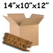 356mm x 254mm x 305mm Double Wall Boxes  (10)