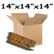 356mm x 356mm x 356mm Double Wall Boxes  (10)