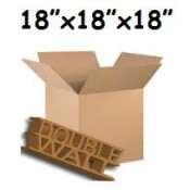 457mm x 457mm x 457mm Double Wall Boxes  (10)