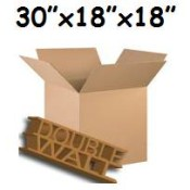 762mm x 457mm x 457mm Double Wall Boxes  (10)