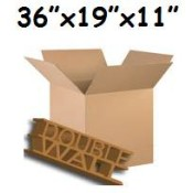 914mm x 483mm x 279mm Double Wall Boxes  (9)