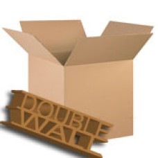 50 x Double Wall Medium Storage Packing Boxes 457mm x 305mm x 305mm