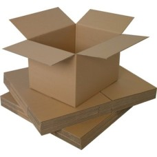 20 x Single Wall Small Cardboard Postal Mailing Boxes 76mm x 76mm x 76mm