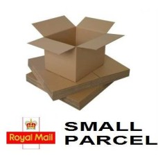 10 x Single Wall Cardboard Postal Mailing Boxes 102mm x 102mm x 102mm