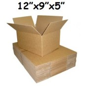 305mm x 229mm x 127mm Single Wall Boxes  (8)