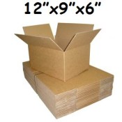 305mm x 229mm x 152mm Single Wall Boxes  (8)