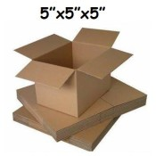 127mm x 127mm x 127mm Single Wall Boxes  (3)