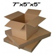 178mm x 127mm x 127mm Single Wall Boxes  (6)