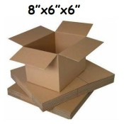 203mm x 152mm x 152mm Single Wall Boxes  (7)