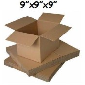 229mm x 229mm x 229mm Single Wall Boxes  (7)